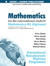 Urban P. — Mathematics for the International Student. IB HL Options