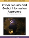 Kenneth J. Knapp — Cyber Security and Global Information Assurance: Threat Analysis and Response Solutions (Advances in Information Security and Privacy)